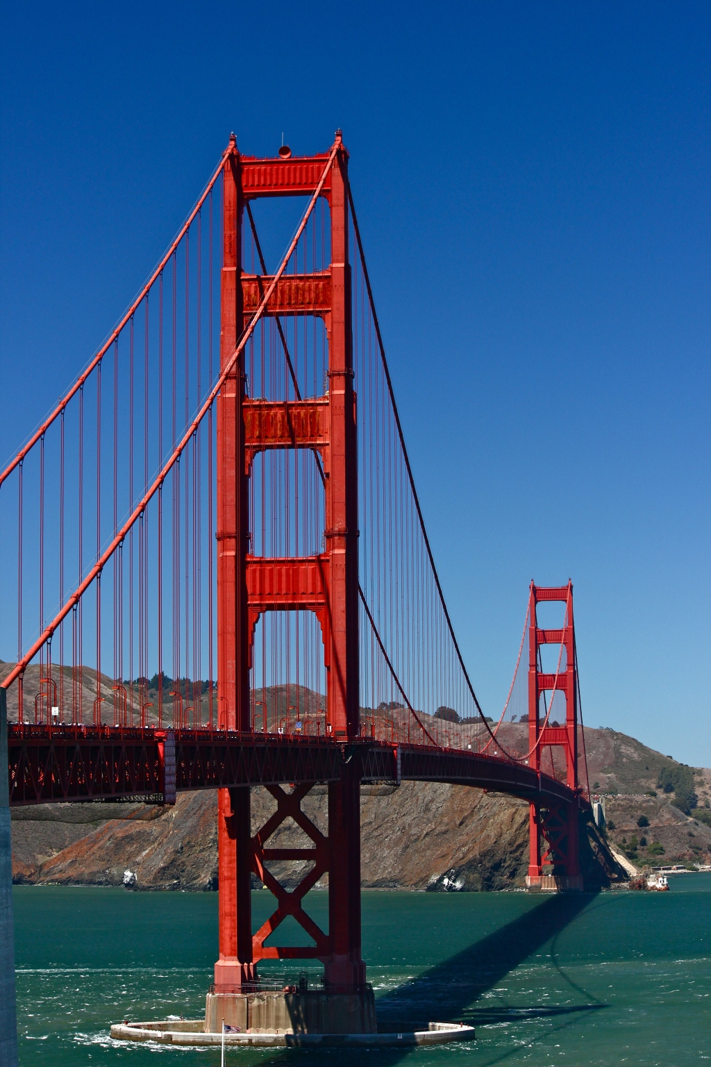 Golden Gate at 2pm