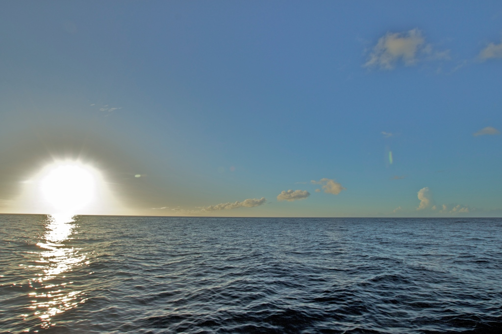 Day 2: Sunset Cruise in the Caribbean Sea. Sigma 10mm, f/11, 1/100, ISO 100