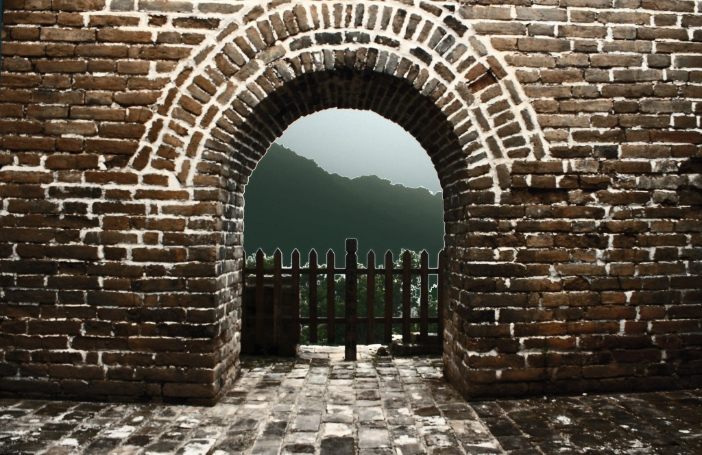 Mutianyu-Last watchtower in the restored section