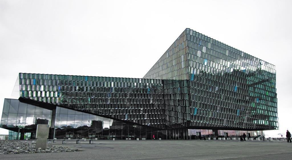 Harpa Concert Hall, Reykjavik. Canon T3i, 15mm, ISO 100, f/5.6, 1/80