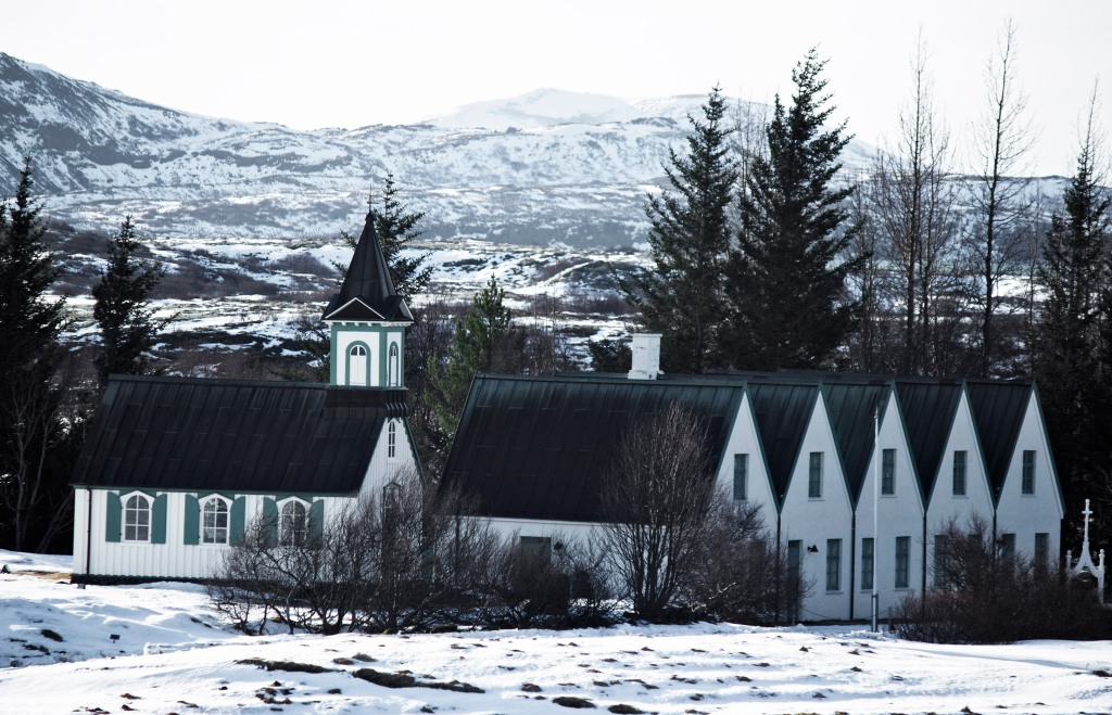 Third in the Thingvellir Church and Thingvellir Farm series. Think it's my least favorite, but tried different focal lengths and color correction on each. Canon 179mm