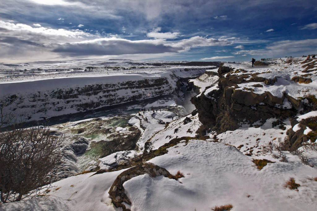 Southwest Iceland, located in the canyon of Hvítá river. As seen on our Reykjavik Excursions Golden Circle tour. Sigma 10mm, ISO 100, f/14, 1/125