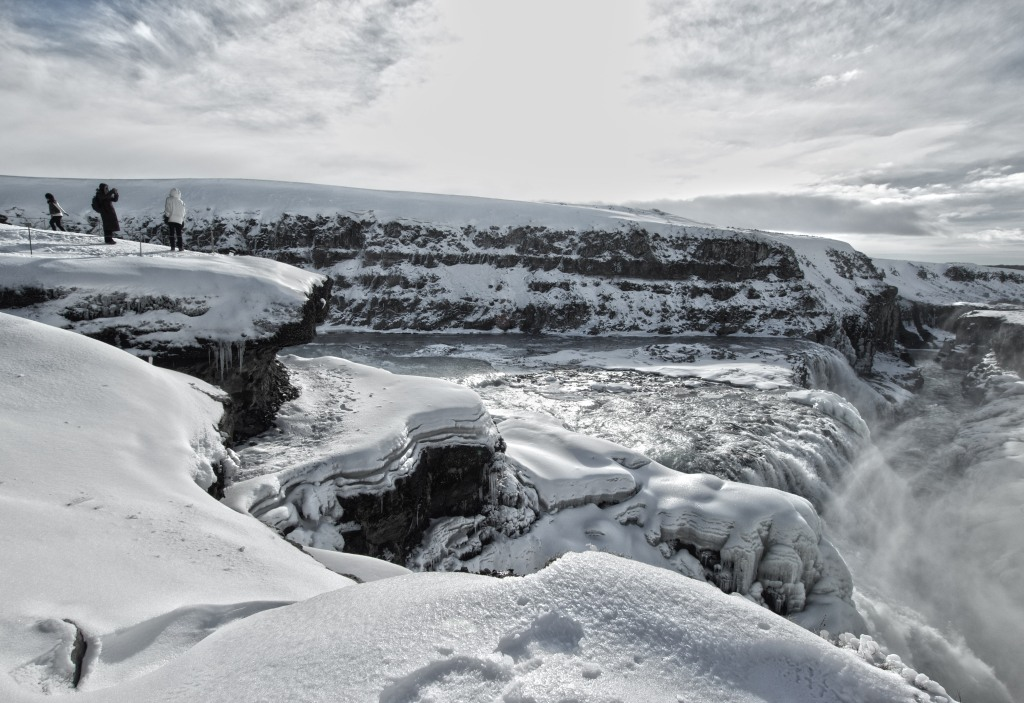 Located in the canyon of Hvítá river in southwest Iceland, as shot on my Canon T3i, Sigma 10mm lens. ISO 100, f/10, 1/125