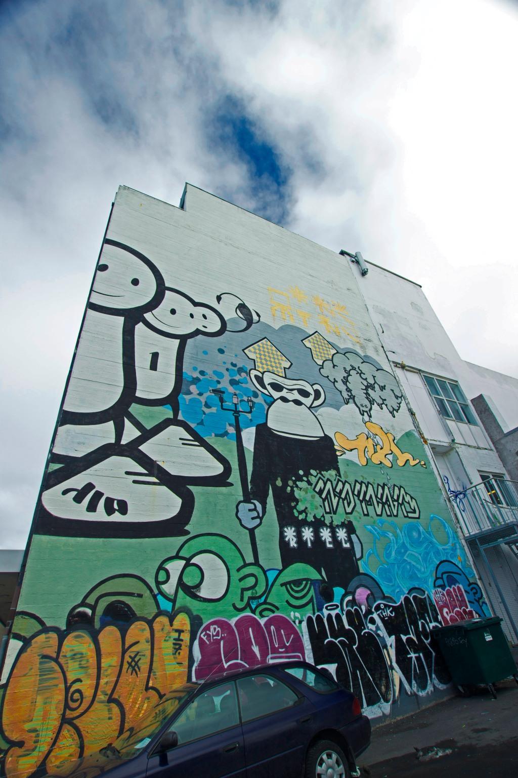 Graffiti in Reykjavik