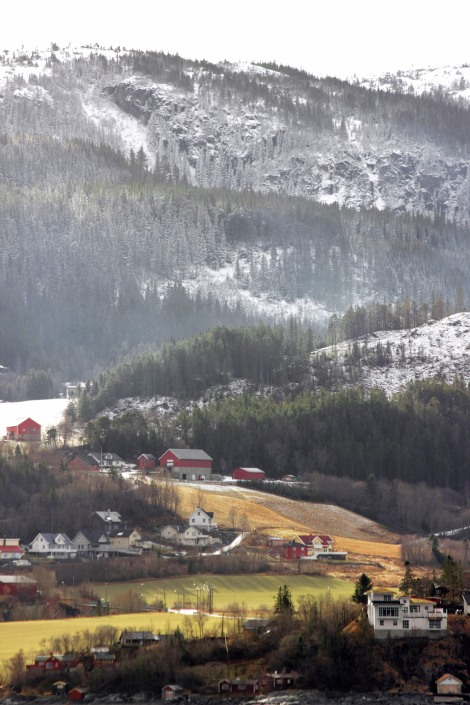 Western Norwegian Coast via Hurtigruten cruise ship. Canon T3i. March 2015