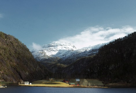 Fjord tour from Bergen Norway. Escapes my mind if this was toward Sognefjord or Montserrat. Canon T3i. Canon 28mm. f/9. 1/100. ISO 200